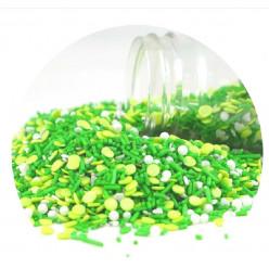 Confetis Mix Verde Esperança