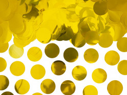 Confettis Círculos Dourados