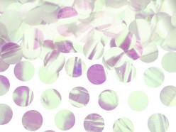 Confettis Círculos Iridescentes