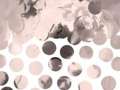 Confettis Círculos Rose Gold