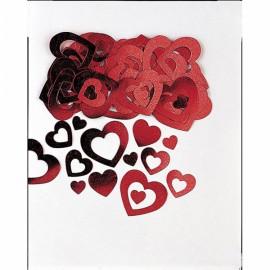 Confettis Corações Metalizados 14gr