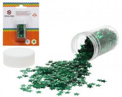Confettis Estrelas Verde 7g