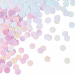 Confettis Redondos Iridescentes
