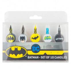 Conjunto 10 Velas Batman