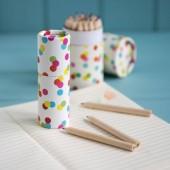 Conjunto 12 lápis de cor - Confetti