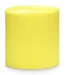 Conjunto 4 Rolos Papel Crepe Amarelo