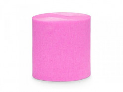 Conjunto 4 Rolos Papel Crepe Rosa