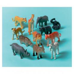 Conjunto 8 Animais da Selva Sortidos