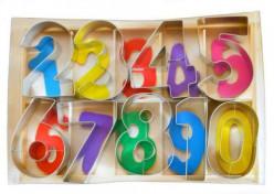 Conjunto 9 Cortadores Bolacha Números