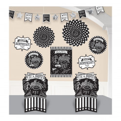 Conjunto de Decoracao happy Birthday