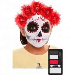 Conjunto Maquilhagem Catrina Infantil