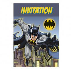 Convites Festa Batman - 8 uni