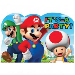 Convites Super Mário 8 und