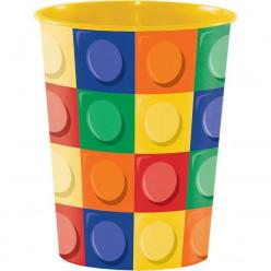 Copo Plástico Lego 473ml