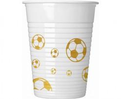 Copos Futebol Gold 8 unid