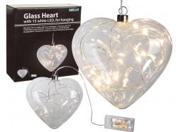 Coração led  decorativa