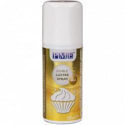 Corante Alimentar em Spray Dourado 100ml PME