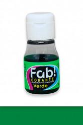 Corante Líquido Verde FAB 10ml