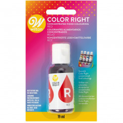 Corante Wilton Color Right Vermelho 19ml