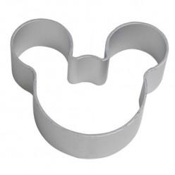Cortador bolacha cabeça Mickey  - 10 cm