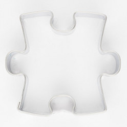 Cortador de Bolacha Peça Puzzle 4,5cm