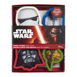 Cortadores Bolacha Star Wars 4 peças