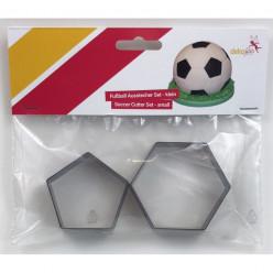Cortadores de Bolacha Futebol Pequenos