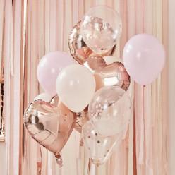 Decoração Balões Rosas