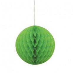 Decoração Bola Papel Verde 20cm