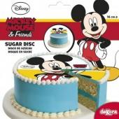 Decoração bolo Mickey 16cm