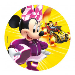 Decoração bolo Minnie 16cm