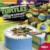 Decoração bolo Tartarugas Ninja 16cm