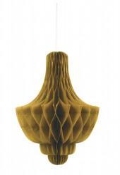 Decoração Castical Dourado 14 polegadas