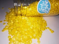 Decoração Confettis Amarelo 55gr
