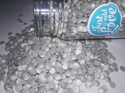 Decoração Confettis Prata 55gr
