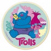Decoração de bolo de Aniversário com a Poppy - Trolls - Sortido