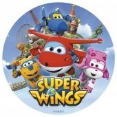 Decoração de bolo de Aniversário com os Super Wings - Sortido
