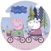 Decoração de bolo obreia de Aniversario Porquinha Peppa