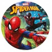 Decoração de bolo Spiderman