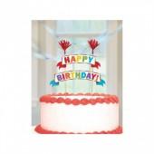Decoração de Bolos Arco Íris  Happy Birthady