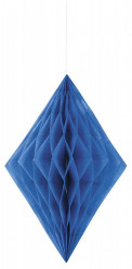 Decoração de papel 14 polegadas Azul