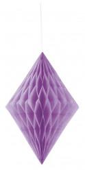 Decoração de Papel Diamante 14 polegadas Roxo