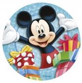 Decoração em açúcar para bolo de Aniversário Mickey