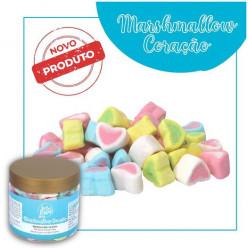 Decoração Marshmallow Coração 50g