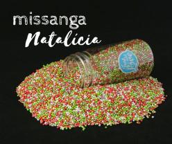 Decoração Missanga Natalícia 75gr