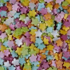 Decoração Mix Flores Coloridas 55g