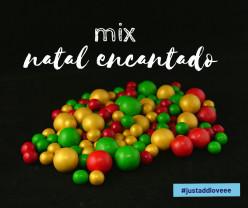 Decoração Mix Natal Encantado 150g