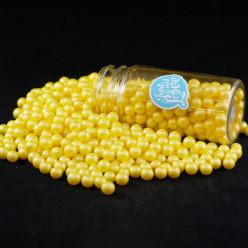 Decoração Pérolas Amarelas L 70g