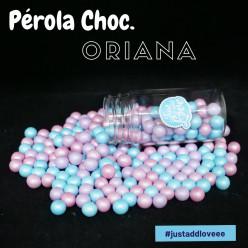 Decoração Pérolas Chocolate Oriana 65g