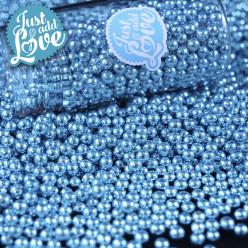 Decoração Pérolas Metalizadas Azul 75g